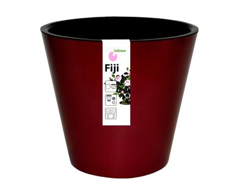 Горшок для цветов Фиджи D 160 мм/1,6 л бордовый