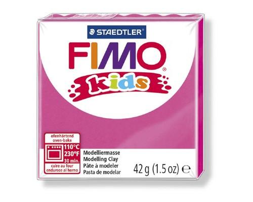 Глина полимерная нежно-розовая,42гр,FIMO,kids,8030-25
