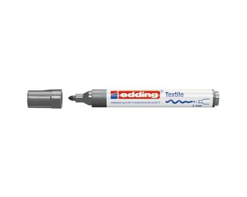 Маркер для текстиля Edding E-4500, серый_012