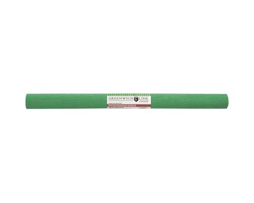 Бумага для творчества креповая,50х250см,32г/м2,зелёная,CR25068