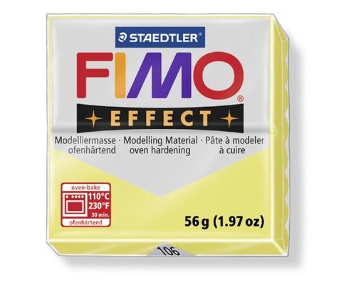 Глина полимерная цитрин,56гр,запек в печке,FIMO,double effect,8020-106