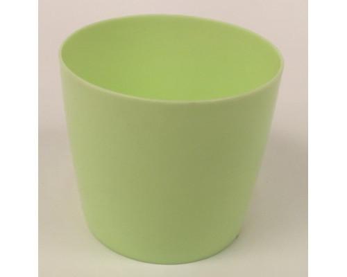 Горшок для цветов б/подд.d15,5см 1,8л салат Бл ГС 2525