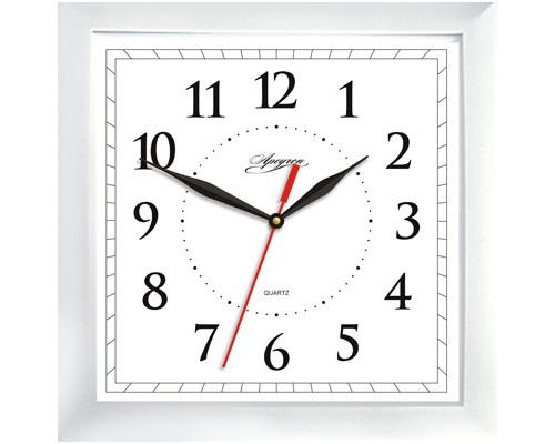 Часы Apeyron PL 02.001 белые,квадратные,пластик