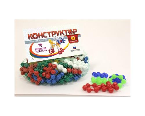 Конструктор пластиковый,мини собирай-ка,11040