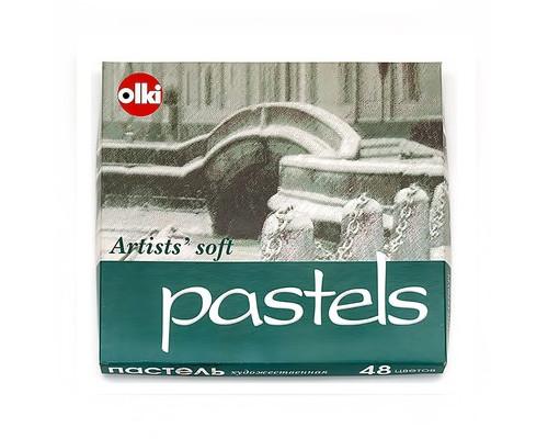 Пастель Olki Soft Графика 48 цв. сухая 0038
