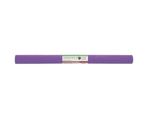 Бумага для творчества креповая,50х250см,32г/м2,сиреневая,CR25040