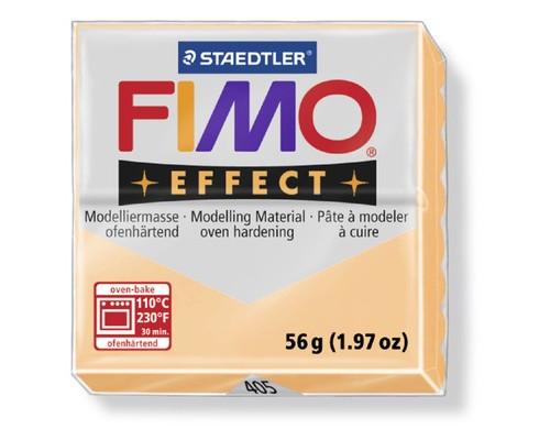 Глина полимерная персик,56гр,запек в печке,FIMO,effect,8020-405