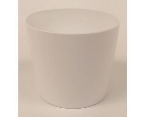 Горшок для цветов б/подд.d15,5см 1,8л белый Бл ГБЛ 5069