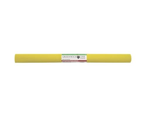 Бумага для творчества креповая,50х250см,32г/м2,жёлтая,CR25012