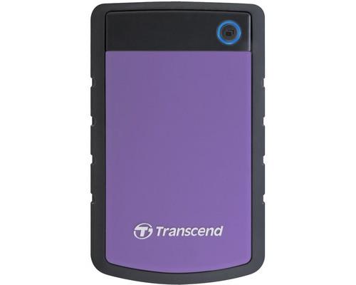 Внешний жесткий диск Transcend 25H3P 1 Tb TS1TSJ25H3P usb 3.0 фиолетовый - (217661К)