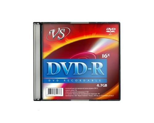 Диск DVD-R VS 4.7 GB 16x 5 штук в упаковке - (166395К)