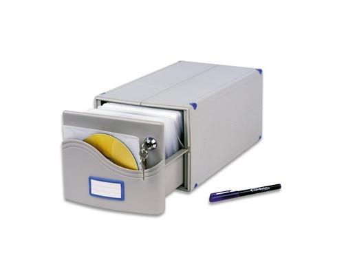 Бокс для CD/DVD дисков ProfiOffice МВ-200 SL - (57500К)