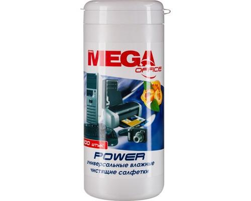 Салфетки в тубе ProМEGA Оffice Power абрикос 100 штук - (332577К)