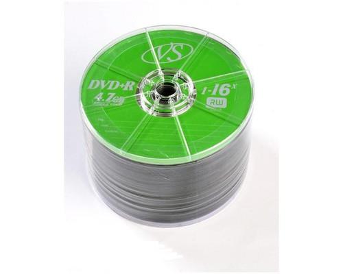 Диск DVD+R VS 4.7 Gb 1-16x 50 штук в упаковке - (166404К)