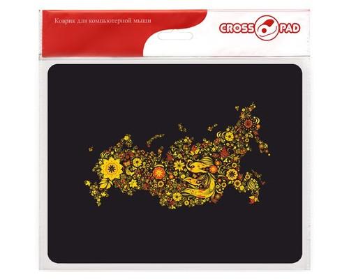 Коврик для мыши Cross Pad CPO042 черный - (652223К)