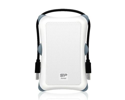 Внешний жесткий диск Silicon Power A30 1 Tb SP010TBPHDA30S3W usb 3.0 белый - (358641К)