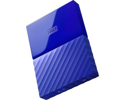 Внешний жесткий диск WD My Passport 2 Тb BUAX0020BBL usb 3.0 синий - (672447К)