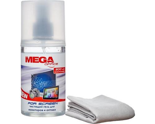Гель ProMEGA Оffice For Screen для мониторов и оптики 200 мл + салфетка - (323646К)