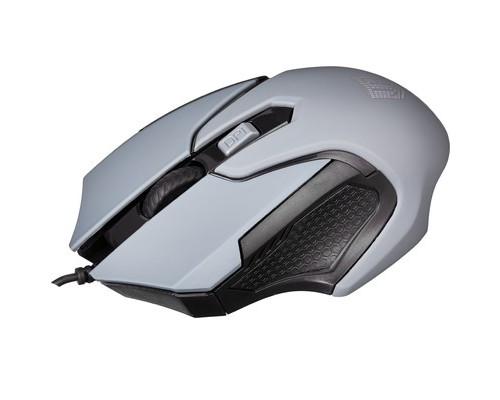 Мышь компьютерная Jet.A Comfort OM-U57 серая - (639791К)