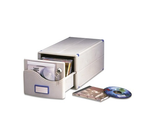 Бокс для CD/DVD дисков ProfiOffice МВ-30 SL - (57499К)