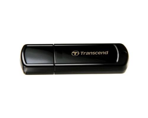 Флеш-память Transcend JetFlash 350 8 Gb USB 2.0 черная - (272692К)