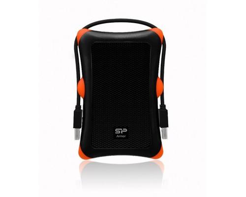 Внешний жесткий диск Silicon Power A30 1 Tb SP010TBPHDA30S3K usb 3.0 черный - (358640К)