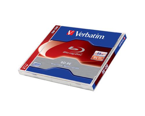 Диск BD-RE Verbatim 25 Gb 2x - (250725К)