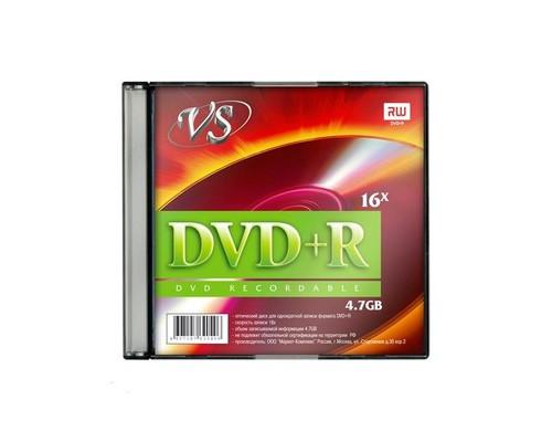 Диск DVD+R VS 4.7 GB 16x 5 штук в упаковке - (166400К)