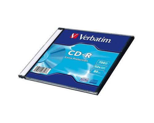 Диск CD-R Verbatim 700 Mb 52x - (208152К)