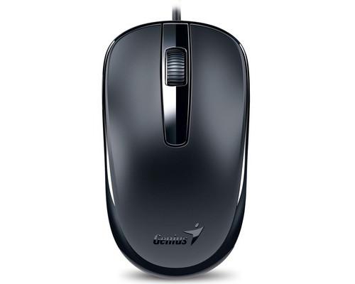 Мышь компьютерная Genius DX-120 черная - (611580К)