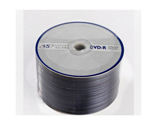 Диск DVD-R VS 4.7 GB 16x 50 штук в упаковке - (166399К)
