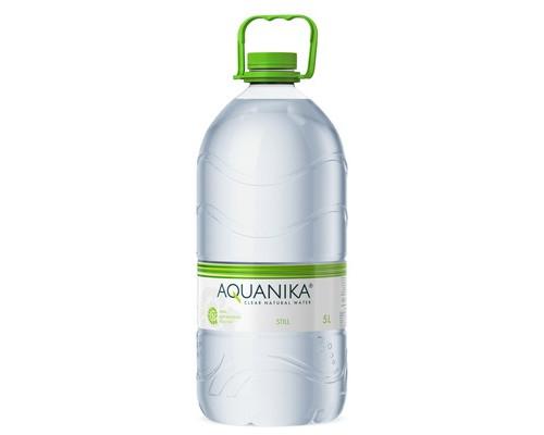 Вода минеральная Акваника негазированная 5 литров - (500274К)