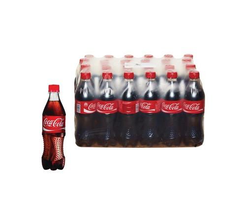 Напиток Coca-Cola газированный 0.5 л 24 штуки в упаковке - (172666К)
