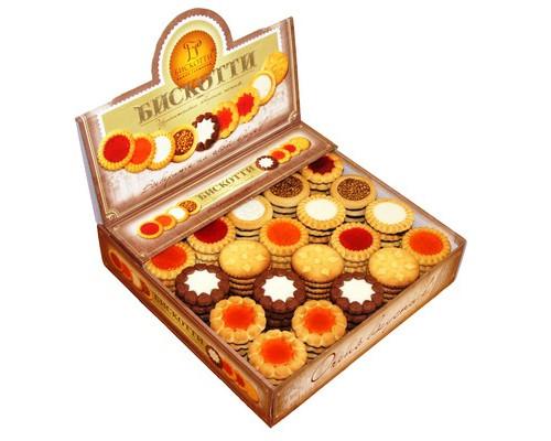 Печенье Бискотти АССОРТИ 9 видов 1.9 кг - (416117К)