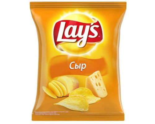 Чипсы Lays со вкусом сыра 80 г - (276472К)