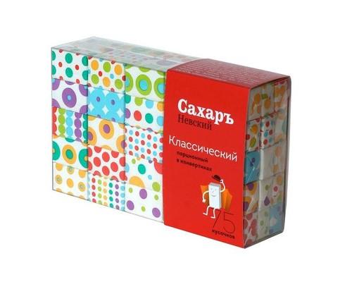 Сахар порционный кусковой белый Сахаръ Невский 420 г - (607877К)