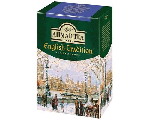 Чай Ahmad Tea Английская традиция черный 100 г - (521954К)