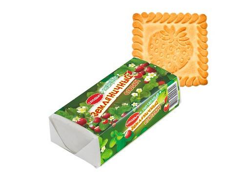 Печенье Слодыч Земляничный 4.5 кг - (681520К)