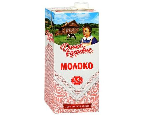 Молоко Домик в Деревне ультрапастеризованное 3.5% 950 г - (671058К)