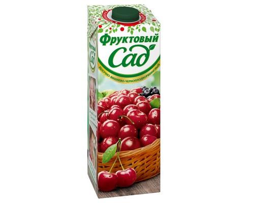 Нектар Фруктовый Сад яблоко/вишня/черноплодная рябина 0.95 л - (440369К)