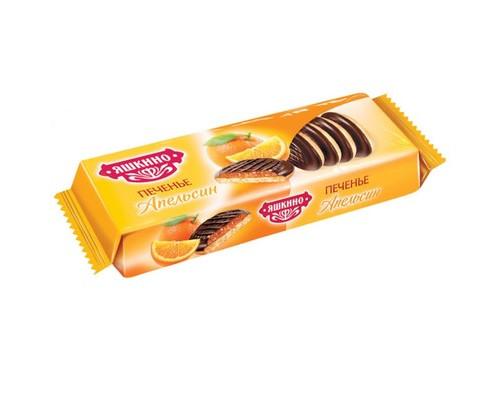 Печенье сдобное Яшкино апельсин 137 г - (450214К)