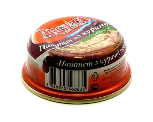 Паштет Argeta из куриной печени 95 г - (451012К)