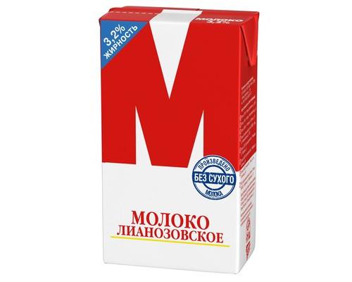 Молоко М Лианозовское ультрапастеризованное 3.2% 950 г - (133574К)