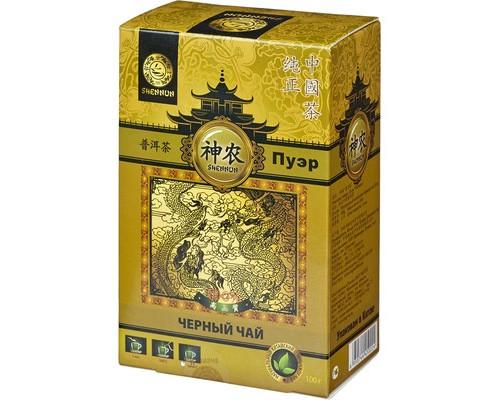 Чай Shennun Пуэр черный 100 г - (464233К)