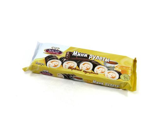 Мини-рулеты Мастер десерта Вареная сгущенка 175 г - (217280К)