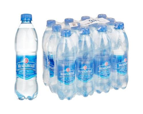 Вода питьевая Малаховская негазированная 0.5л 12 штук в упаковке - (634901К)