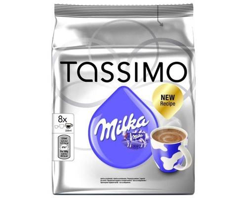 Капсулы для кофемашин Tassimo Milka 8 штук в упаковке - (406345К)