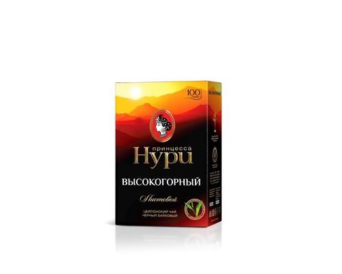 Чай Принцесса Нури Высокогорный черный 100 г - (420995К)