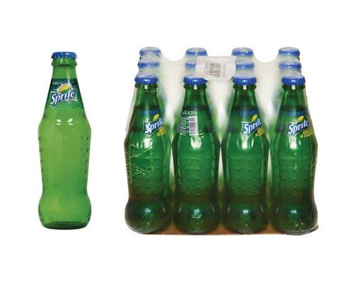 Напиток Sprite азированный 0.25 л 12 штук в упаковке - (327635К)