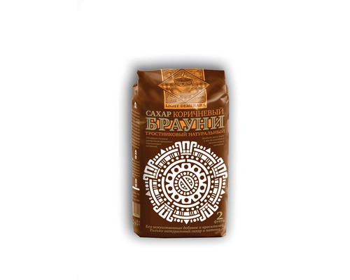 Сахарный песок Брауни Light Demerara тростниковый 900 г - (561512К)